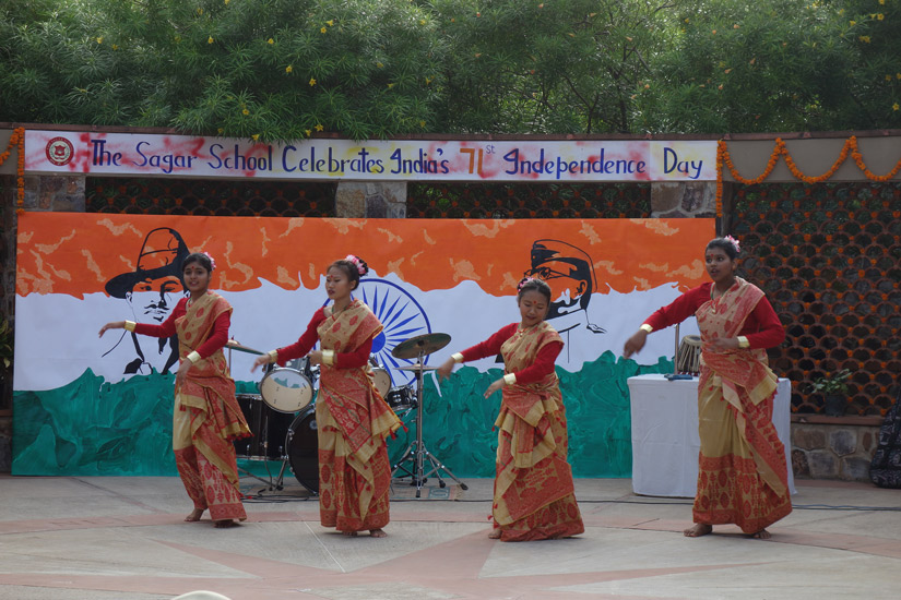 71st INDEPENDENCE DAY CELEBRATION @ THE SAGAR SCHOOL