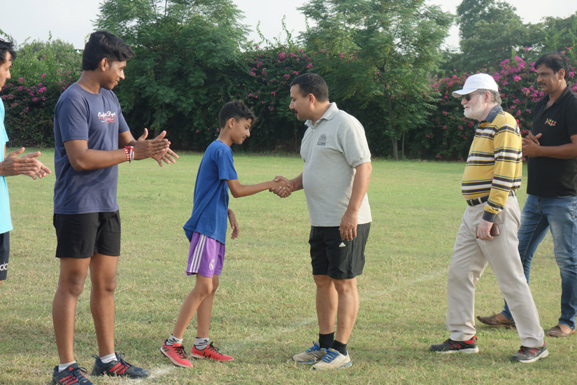 Junior Sagar Premier league-football final