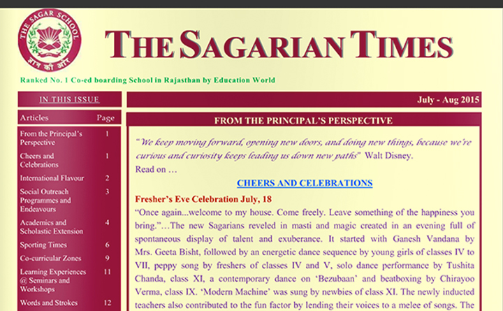 The Sagarian Times July - August 2015