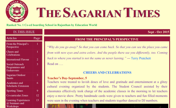 The Sagarian Times September - October 2015