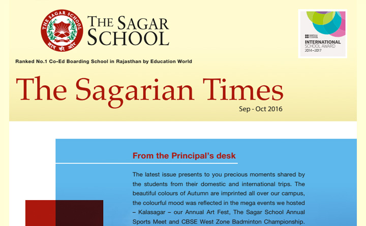 The Sagarian Times September - October  2016