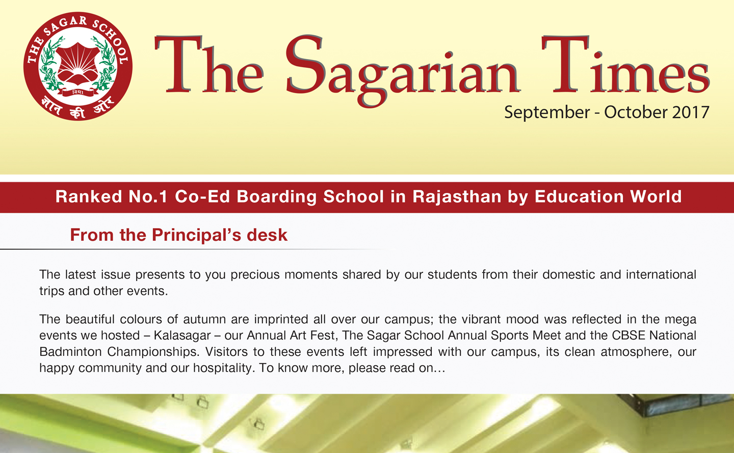 The Sagarian Times September - October 2017