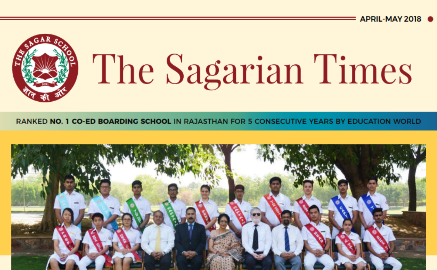 The Sagarian Times April - May 2018