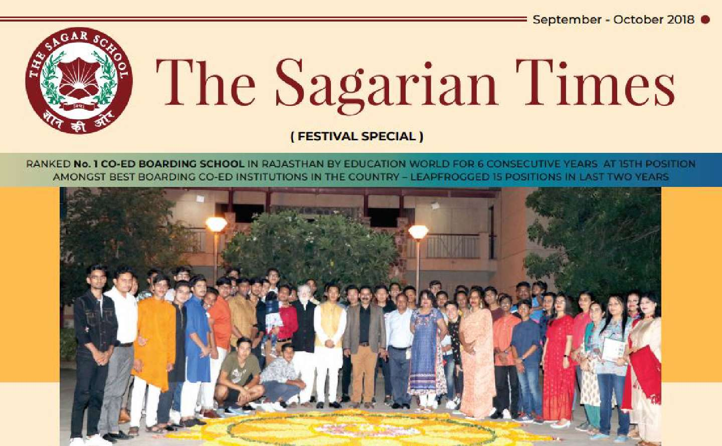 The Sagarian Times September - October 2018