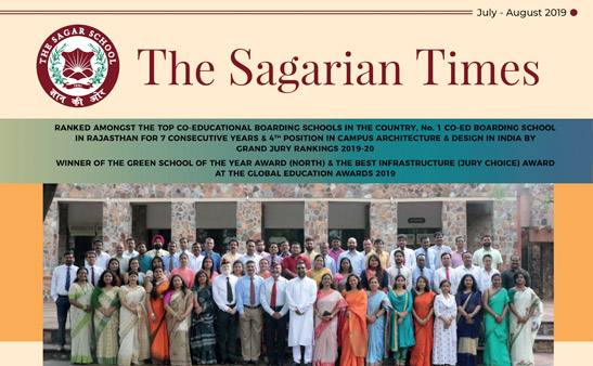 The Sagarian Times July - August 2019